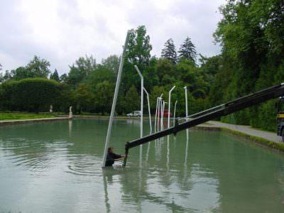 2001, Der Durst der Welt, Schloßanlage Hellbrunn, Salzburg
