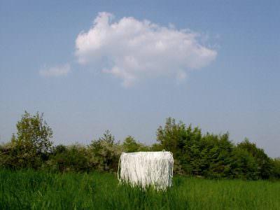 Passage, Wachtberg, 2005, Gips, Bast