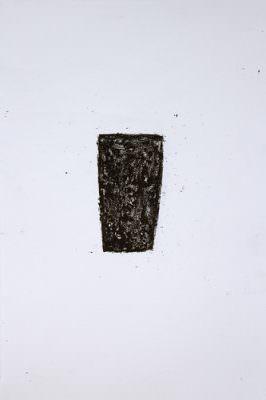 Serie Gefäß (12 teilig) Wachskreide, Bütte, á 57 x 38 cm