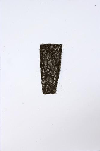 Gefäß, Wachskreide, Bütte, 57 x 38 cm
