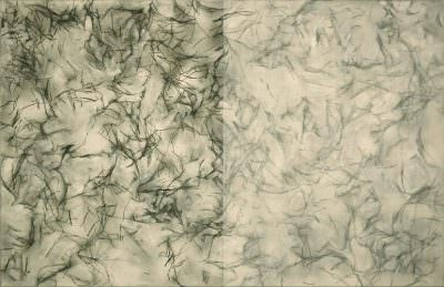 Humus, Acryl, Leinwand, 65 x 100 cm