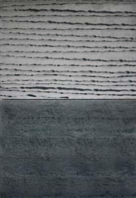 Küstennebel, Acryl, Leinwand, 100 x 70 cm