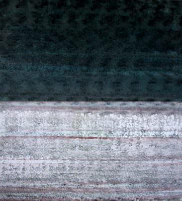 Nebeldunkel, Acryl, Leinwand, 100 x 90 cm