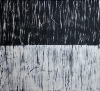 Saison, Mischtechnik auf Leinwand, 100 x 110 cm