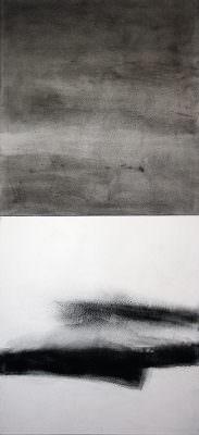 Verdichtung 2, 220 x 100 cm