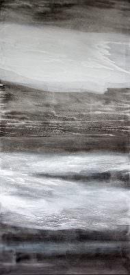 Verdichtung 3,  220 x 100 cm