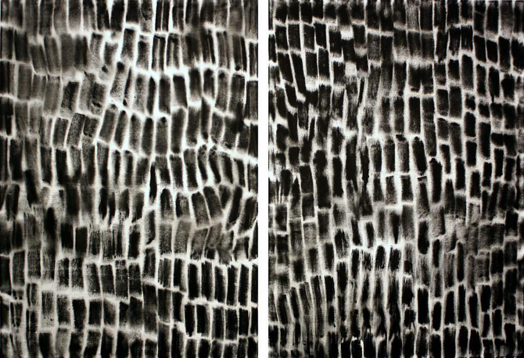 Verschränkung, zweiteilig, 150 x 200 cm
