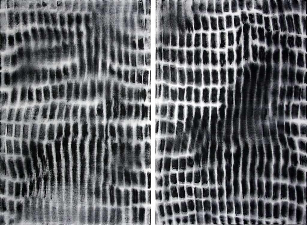Verschränkung 2017, 150 x 200 cm