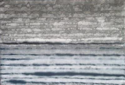 Wassernebel, Acryl, Leinwand, 70 x 100 cm
